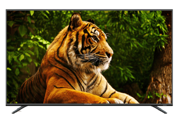 تلویزیون 4K هوشمند ایکس ویژن مدل 55XTU625 سایز 55 اینچ
