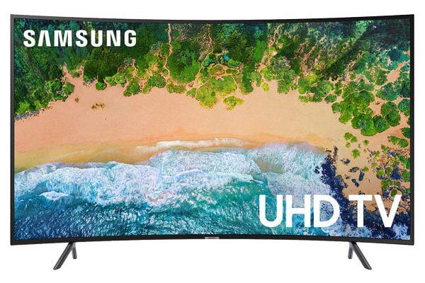 تلویزیون ال ای دی هوشمند خمیده سامسونگ مدل 55NU7300 سایز 55 اینچ