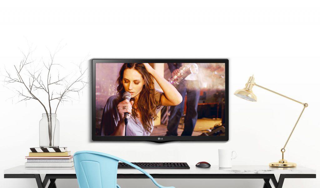 تلویزیون ال جی 24MT48VF سایز 24 اینچ